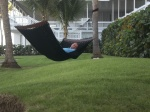 We slept alot and what better than in hammocks