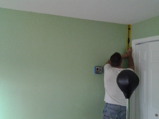Make sure you measure if you are painting
