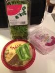 Hummus, Onion, Pepper, & Cilantro